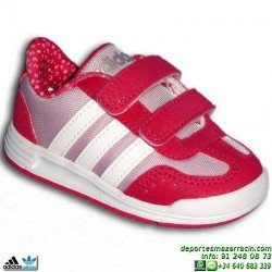 ADIDAS Zapatilla Niña Velcro DINO VS INF Rosa F98757 infantil junior clasica shoes footwear