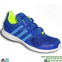 ADIDAS hyperfast 2.0 k Zapatilla Deporte Niño AZUL S82583 junior infantil sport shoes correr gimnasia educacion fisica