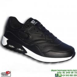 Zapatilla AIR MAX oferta John Smith RISEN L piel Negra estilo Nike Classic BW sneakers Footwear hombre chico personalizar