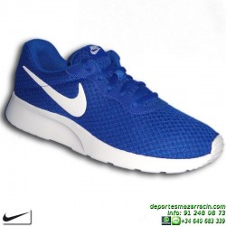 Nike TANJUN AZUL Zapatilla ROSHE RUN 812654-410 SNEAKERS personalizar footwear deporte moda calle
