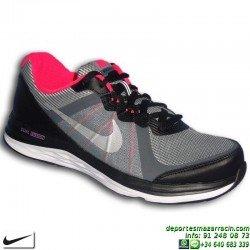 NIKE DUAL FUSION X 2 zapatilla RUNNING chica Negro-Rosa 820313-001 mujer gimnasio training deporte correr personalizar