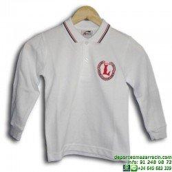 polo manga larga uniforme Lerena colegio valdemoro