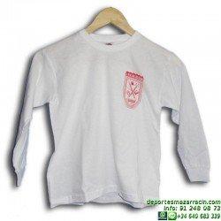 camiseta manga larga rosario uniforme colegio valdemoro