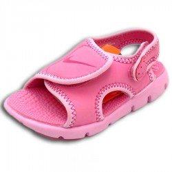 Nike SUNRAY ADJUST 4 TD rosa Sandalia niña velcro 386521-661 infantil