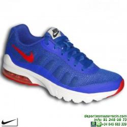 Nike AIR MAX INVIGOR Junior Azul Zapatilla CAMARA DE AIRE 749572-401 SNEAKERS