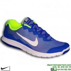 Nike FLEX EXPERIENCE RUN 4 Azul Zapatilla Deporte 749172-404 HOMBRE