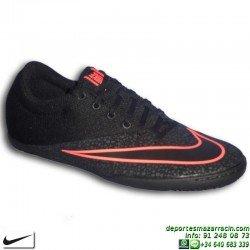 NIKE MERCURIALX PRO IC Bota Futbol Sala Negro 725244-008 personalizar