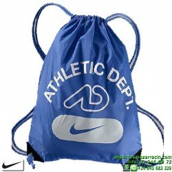 Nike FUNDAMENTALS GRAPHIC GYMSACK Azul Bolsa Gimnasio saco BA4165-414