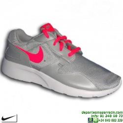 Nike KAISHI Gris-Rosa Sneakers Chica estilo ROSHE RUN 705492-006