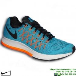 Nike AIR ZOOM PEGASUS 32 AZUL Zapatilla Running 749340-400 HOMBRE