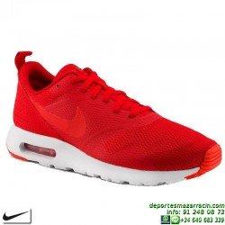 Nike AIR MAX TAVAS ROJA Sneakers Zapatillas Hombre personalizable
