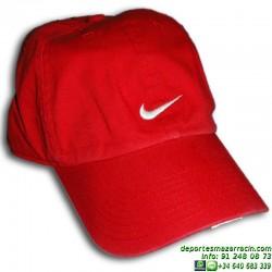 Gorra NIKE Swoosh Rojo 371218-611 cap visera