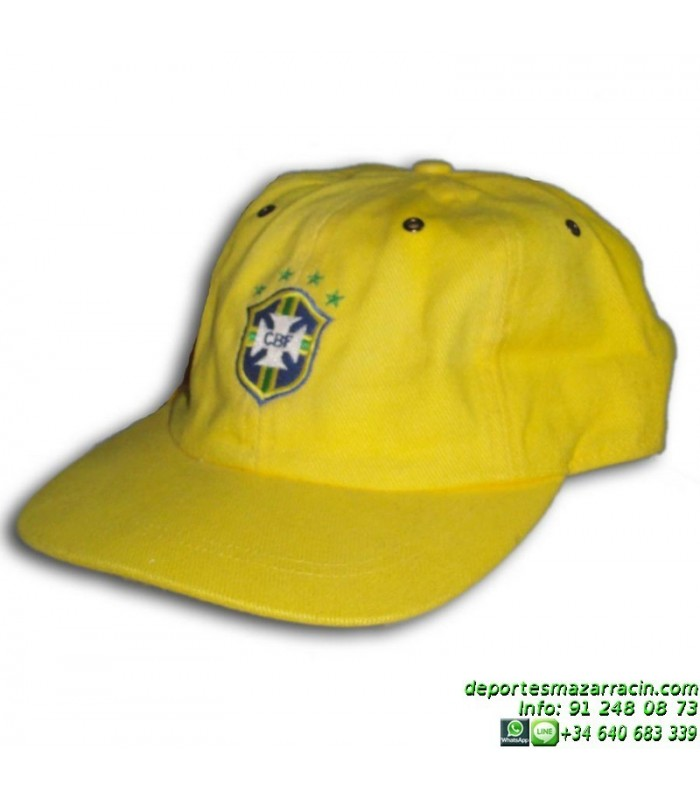 Gorra NIKE BRASIL Cap Amarilla 550573-703 visera b27720e06b3