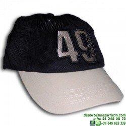 Gorra ADIDAS 49 Linear Speed Azul Marino 398948 cap visera