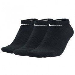 Calcetin NIKE Invisible Pinky Fino NEGRO Pack de 3 pares