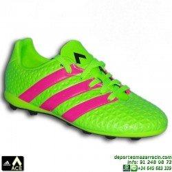 ADIDAS ACE para niños 16.4 bota futbol taco FxG verde AF5034 JUNIOR James