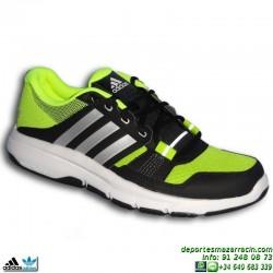Adidas Zapatilla Deportiva Gym Warrior 2 Negra AF5550 hombre
