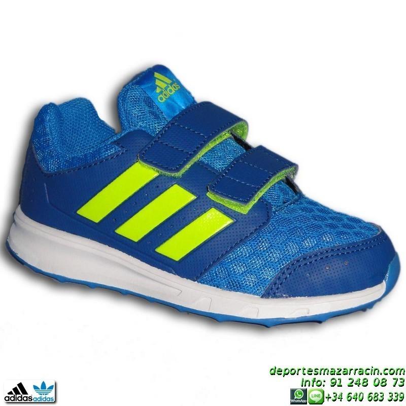zapatillas niño adidas azules