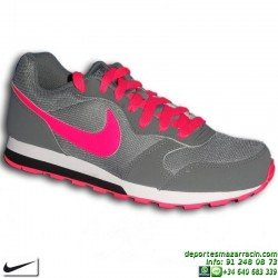 Nike MD RUNNER Gris-Rosa Sneakers CHICA zapatilla Footwear 807319-002