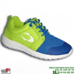 Sneakers Junior John Smith UROS JR Azul Estilo ROSHE RUN zapatilla moda footwear personalizable