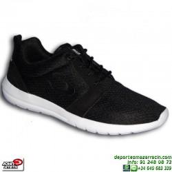 Sneakers John Smith UROS Negro-Blanco Estilo ROSHE RUN zapatilla moda hombre personalizable