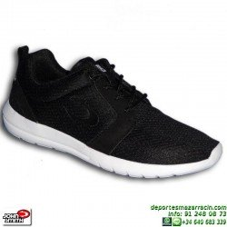 Sneakers John Smith UROS Negro-Blanco Estilo ROSHE RUN zapatilla moda hombre personalizable