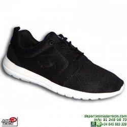 Sneakers Mujer John Smith UROS Negro-Blanco Estilo ROSHE RUN zapatilla deportiva moda personalizable