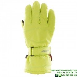 Guante de nieve Nylon softer color verde