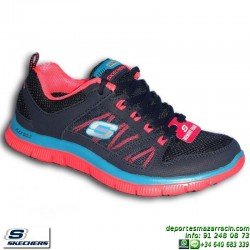 Skechers FLEX APPEAL SPRING FEVER 11727/NVCL Calzado Mujer shoes