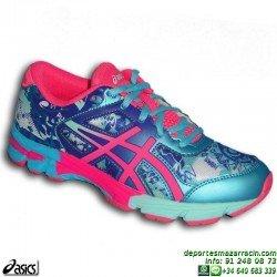 Asics GEL NOOSA TRI 11 Chica Azul C603N-4234 Deportiva Running Triatlon personalizar