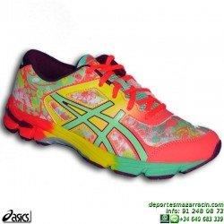 Asics GEL NOOSA TRI 11 Chica Amarilla C603N-0687 Deportiva Running mujer triatlon personalizar
