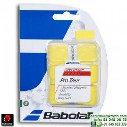 Overgrip Babolat PRO TOUR Tenis amarillo 653033-113