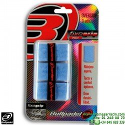 Overgrip Bullpadel FIXOGRIP PRO azul celeste GB1202-011