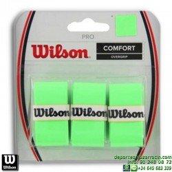 WILSON PRO OVERGRIP VERDE grip recambio tenis padel WRZ4014GR