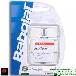 Overgrip Babolat PRO TOUR Tenis blanco 653033-101