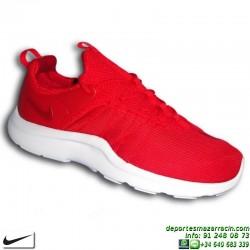 Nike DARWIN rojo Sneakers Hombre 819803-666 Estilo air huarache