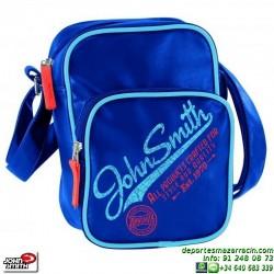 Cartera Organizador John Smith Retro piel Azul B15209 16V