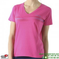 Camiseta Mujer John Smith EGALM Rosa manga corta