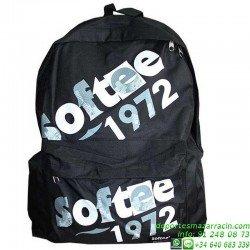 Mochila Escolar Economica 1972 Softee Negro