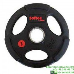 Disco para Pesas 50mm OLIMPICO URETANO softee gimnasio fitness