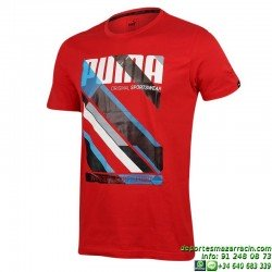 Camiseta Puma FUN DRY GRAPHIC TEE Roja