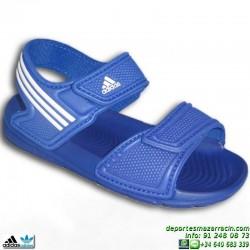 Adidas AKWAH 9 K Azul NIÑO Sandalia 28-35