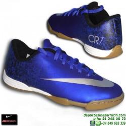 Nike MERCURIAL VORTEX CR NIÑO Cristiano Ronaldo 684856-404 Futbol sala