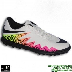 Nike HYPERVENOM PHADE Niño Neymar Microtaco Futbol Turf 749912-108 Blanco