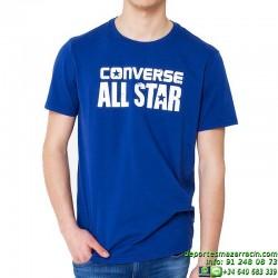 Camiseta Converse ALL STAR Chuck Taylor flocado Men 14084c-441 Marino