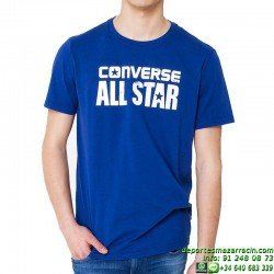 Camiseta Converse ALL STAR Chuck Taylor flocado Men 14084c-441 Marino