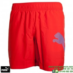 Pantalon Corto Junior PUMA ACTIVE BIG CAT Bermuda 836709-12 Rojo
