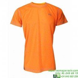 Camiseta TECNICA DRY Naranja Economica
