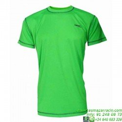 Camiseta TECNICA DRY Verde Economica