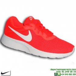Nike TANJUN Naranja Sneakers Hombre estilo ROSHE RUN 812654-810 zapatilla deportiva